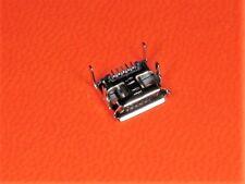 USB 2.0 Einbaubuchsen, Kupplung, Micro, SMD/Print, z.B. Handy Ladebuchse, 3 Stck