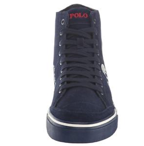 Polo Ralph Lauren Men's Solomon Sneaker, Aviator Navy Multi, 11.5 D US