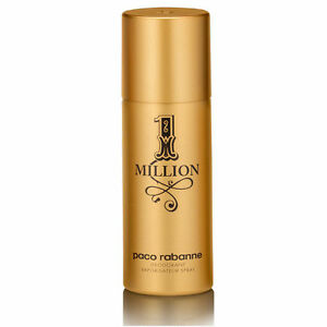 1 One Million by Paco Rabanne For Men Deodorant Spray 150 ml /5.1 Oz  New Sealed