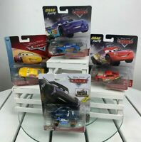 Disney Pixar Cars Jackson Storm-Spikey Fillups-McQueen-Eze Cruz Ramirez.Lot of 4