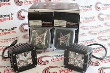"RIGID INDUSTRIES DUALLY SERIES 3"" FLOOD LED LIGHT SET 20211 w/ FREE BLACK COVERS"