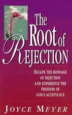 The Root of Rejection a Christian paperback book by Joyce Meyer FREE SHIPPING