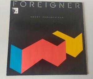Foreigner Agent Provocateur vg/vg+ LP Vinyl Record 781999 & Inserts