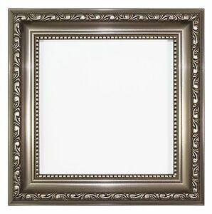 Ornate Shabby Chic Picture, photo frame poster frame Instagram Square - Gunmetal