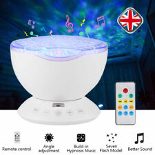 Calming Autism Sensory LED Light Projector Relax Ocean Night Music Projection os