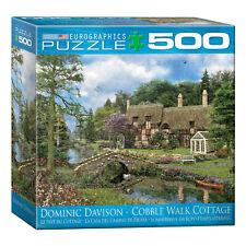 Large Piece Cottage Jigsaw Puzzle -Oversized 500 Pc Puzzle, Dominic Davidson Art