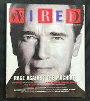 WIRED MAGAZINE - September 2004 - ARNOLD SCHWARZENEGGER / MoveOn.org / Politics