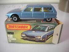 MATCHBOX SUPERFAST No.12 CITROEN CX MIB