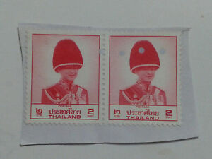 2 x THAILAND STAMPS - BOTH 2 BAHT