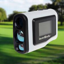 Laser Range Scope/Fog Golf Distance Correction/Scan Mode 600m 6x Lw600Pro White
