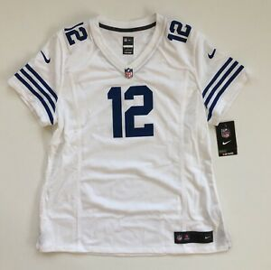 Women's XL Andrew Luck Indianapolis Colts Nike Alternate White Game Jersey