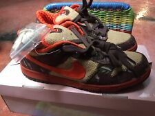 Nike Sb Dunk Reese Forbes Camo 2005 US 11 EUR 45 UK 10 With Pink Box DS Supreme