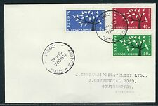 1963 Cyprus Europa 1962 First Day Cover