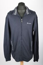 VGC Vintage CHAMPION Cotton Jacket | Mens XL | Sweatshirt Sweat Full Zip Retro