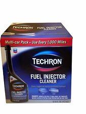 Chevron Techron Fuel Injector Cleaner 6 Multi-Car Pack 16 fl oz Each