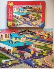 RAVENSBURGER 100 piece CHUGGINGTON Busy Day PUZZLE made in GERMANY