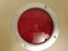 Vintage NOS Grote 104 Reflector..WW II.Railroad Marker..Red Grotelite Sae-A Lens
