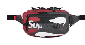 Supreme waist Bag Red Camo, blue, tan SS21 IN HAND Brand New DS
