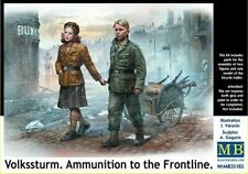 Masterbox 1/35 Scale Volkssturm. Ammunition to the Frontline
