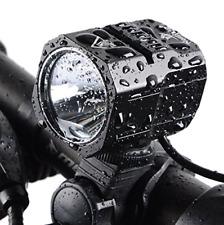 Nestling USB Rechargeable LED Bike Light Set, 1200 Lumen Bicycle Headlight Cree