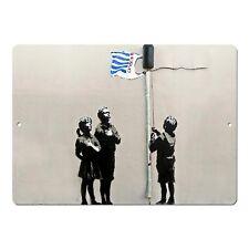 "Banksy Art Tesco Generation Mini 5"" x 7"" Metal Sign"
