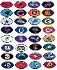 NFL Football Sticker / Aufkleber - American Football - Alle Teams - Patriots ...