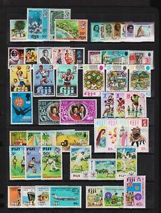 Fiji - 15 commemorative sets, mint, see scan