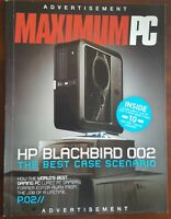 HP Blackbird002 PC Original Boxes Manuals & Rare Voodoo Razer Death Adder Gear