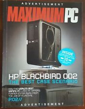 HP Blackbird002 PC Original Boxes Manuals & Rare Voodoo Razer Death Adder Gear