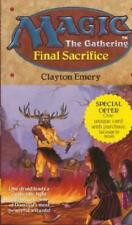 4x Magic the Gathering: Final Sacrifice New MTG Book