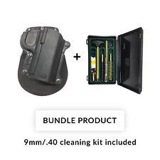 *BUNDLE* Fobus KM-3 Black Polymer Paddle Holster Kimber Ultra Carry 3 inch