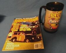 1988 Street Rod Nationals Nsra Louisville Ky Thermo Serv Mug Cup & Magazine