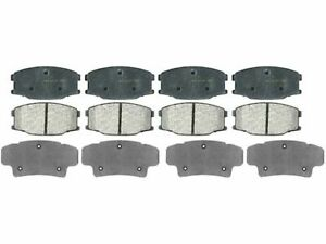 For 2001 Mitsubishi Fuso FE-CA Brake Pad Set AC Delco 11579QD FE649
