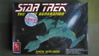 AMT/ ERTL Star Trek TNG Vor'cha Class Klingon Battle Cruiser 1/1400 kit Sealed