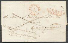 ROOD ALKMAAR FRANCO + ALKMAAR k29+30Av OP BRIEF 7 JAN 1831-WIERINGERWAARD Zi730