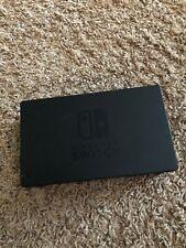 Official Genuine Nintendo Switch Console TV Dock Station - Missing Back Cover...