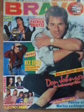 BRAVO 8-12.2. 1987 (2) Tony Hadley Spandau Ballet EUROPE Bowie Swayze A-HA Nevil