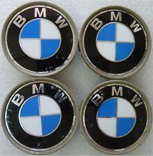 4 x BMW Nabendeckel Satz Felgendeckel Set Nabenkappen 1er 3er E36 E46 E90 5er