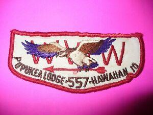OA Pupukea Lodge 557,F2a,1960s IO Hawk Flap,TAGS,454,567,Aloha Council,Hawaii,HI