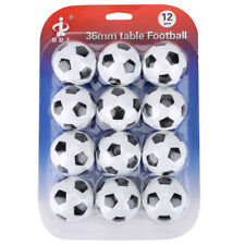 Set 12 Palline Calcio Balilla Biliardino Palla 36mm Ball Table Football Soccer