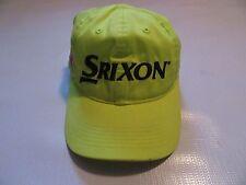 Srixon Z Star Tour Yellow Strapback Hat Golf Adjustable One Size Adult