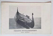 Rare Vintage Norwegian Ship Model Miniature Catalog Fredhøis Modellskibsverft