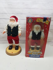 Hip Swinging Santa Clause Gemmy Holiday Christmas Animated Dancing St Nick Music