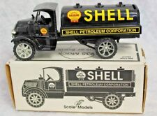 1935 Mack Tanker Locking Bank Die-Cast Model SHELL OIL LOGO