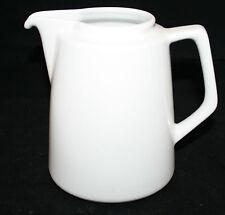 Figgjo Norway Vitro-Porselen Med Korund White Coffee Tea Pot NO LID 3552 AS-IS