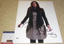 Karen Gillan Signed 11x14 Dr Who Amy Pond Girl Who Waited Character Name PSA/DNA