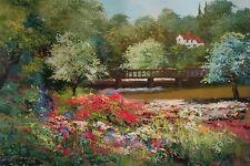 Mark King - Across the Pond Ltd Ed of 75 Giclee on Canvas with COA
