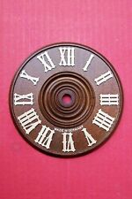 Dials for cuckoo clocks,  all wood Black Forest made, sizes  6 - 15 cm...