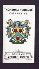 THOMSON & PORTEOUS - ARMS OF BRITISH TOWNS - #47 STRATFORD ON AVON