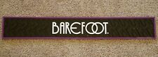 Barefoot Wine Rubber Pub / Bar Pad / Mat matt / Spill Rail bar mat Brand New